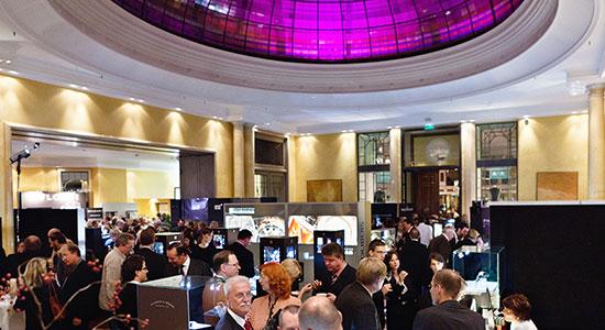 Bild der Munichtime vom Atrium im Hotel Bayerischer Hof