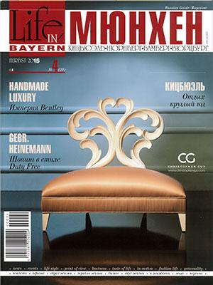 Bild: Bericht Munichtime in LIFE IN BAYERN- Herbst 2015