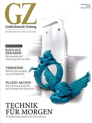 Bild: Bericht Munichtime in GZ-Goldschmiedezeitung - 12-2015