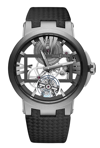 Bild: Ulysse Nardin - Executive Skeleton Tourbillon