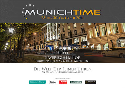 Cover Katalog Munichtime 2016
