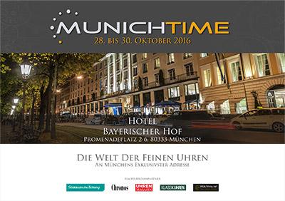 Cover Katalog Munichtime 2016