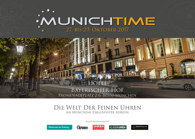 Cover Katalog Munichtime 2017