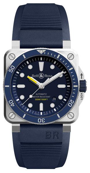 Bild: BellRoss-BR03-92-Diver-Blue